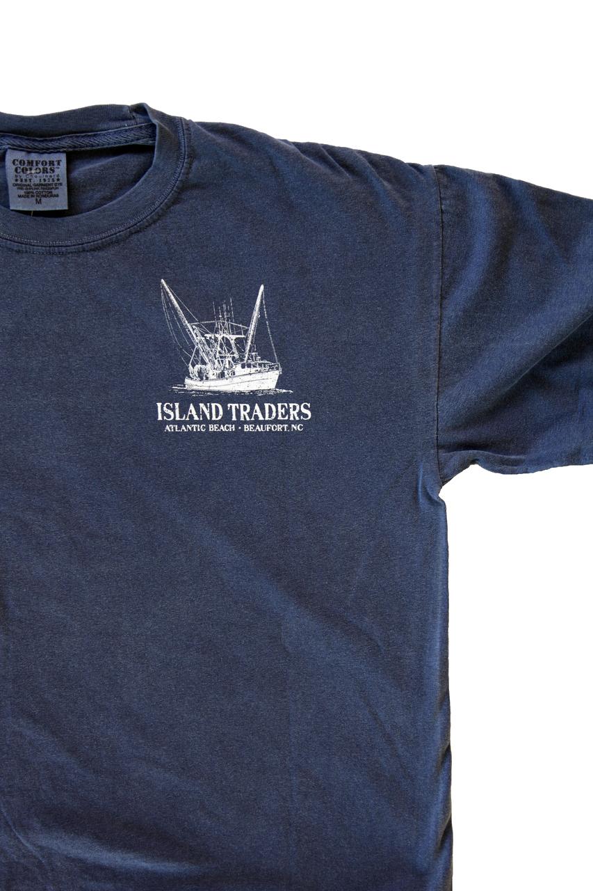 Blueprint trawler long sleeve beaufort nc t shirts island add to wishlist loading malvernweather Gallery