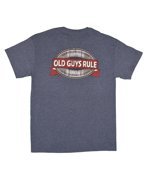 Remind your old guy how cool he still is with our collection of Old Guys Rule men's t-shirts.