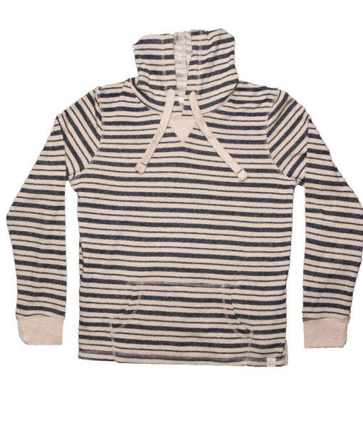StripedFrenchTerryHoodie-LS-NavyCream-FRONT