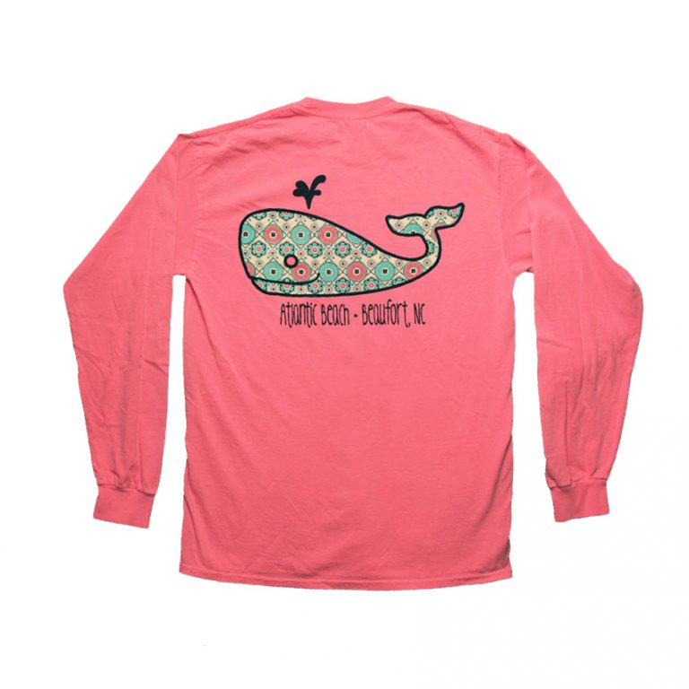 WishListWhale-LS-NeonCoral-BACK