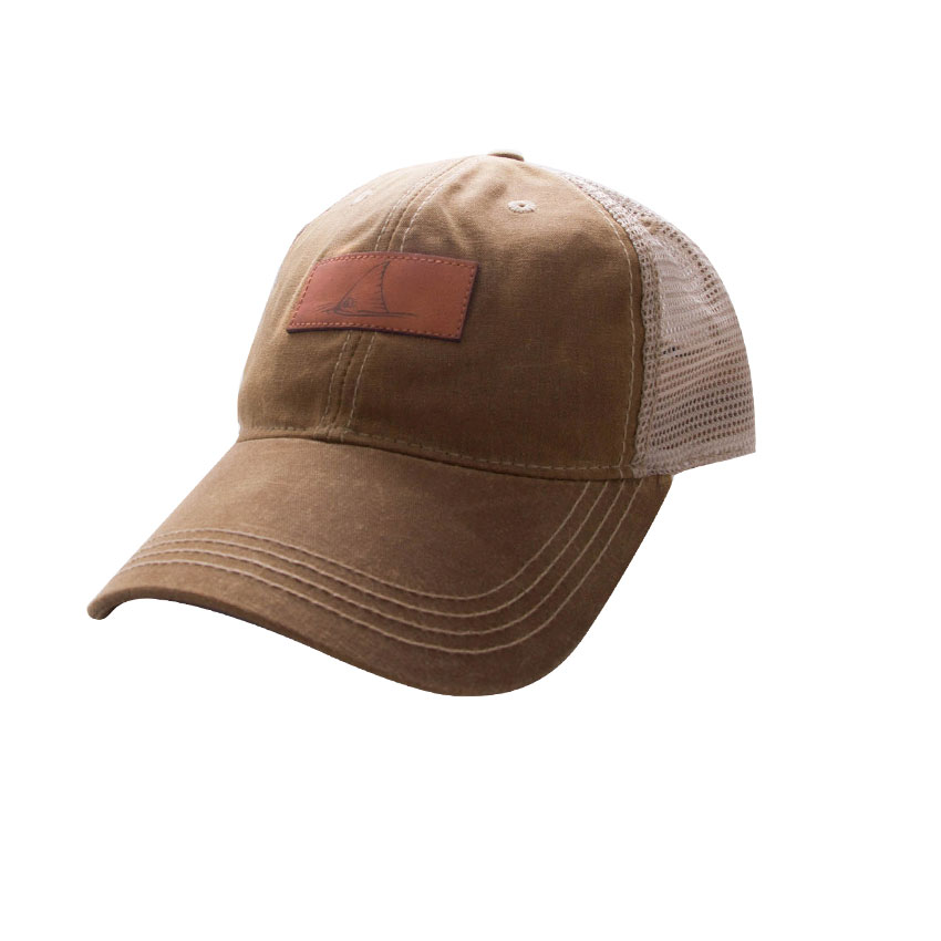 d2ceb4723 Hat Redfish Wax Leather Patch